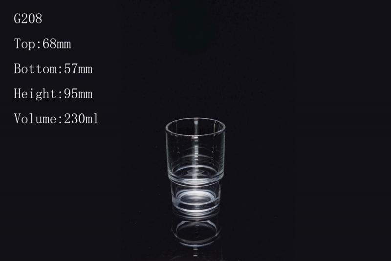 玻璃杯的防滑设计